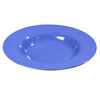 Carlisle 4303014 Durus 20 oz. Ocean Blue Melamine Pasta Bowl - 12 / Case