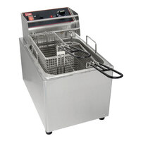 Grindmaster 08086L 8 1/2 inch x 8 1/2 inch x 6 5/8 inch Full Size Fryer Basket with Front Hook