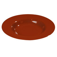 Carlisle 3303405 Sierrus Red Pasta / Soup / Salad Bowl 9 1/4 inch 24 / Case
