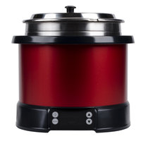 Vollrath 7470140 Mirage 7 qt. Red Induction Rethermalizer - 120V, 800W