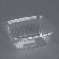 Dart Solo C32DER ClearPac 32 oz. Clear Rectangular Plastic Container - 504 / Case