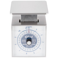 Edlund SR-11000 C Premier Series 25 lb. / 11 kg Portion Scale with 6 inch x 6 3/4 inch Platform