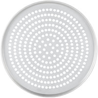 American Metalcraft T2017SP 17 inch Super Perforated Tin-Plated Steel Pizza Pan