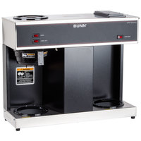 Bunn VPS 12 Cup Pourover Coffee Brewer with 3 Warmers - 120V (Bunn 04275.0031)
