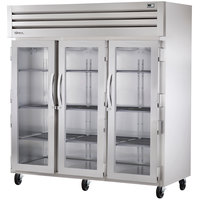 True STA3R-3S Specification Series 77 inch Three Solid Door Reach In Refrigerator - 85 Cu. Ft.