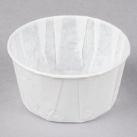 Genpak F550 5.5 oz. Harvest Paper Souffle / Portion Cup - 5000/Case
