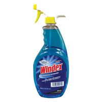 SC Johnson Windex 90139 Ammonia-D 32 oz. Glass and Multi-Surface Spray Cleaner   - 12/Case