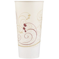 Dart Solo RS22N-J8000 Symphony 22 oz. Wax Treated Paper Cold Cup - 1000 / Case