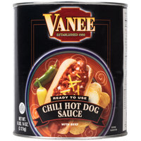 Vanee 390I Chili Hot Dog Sauce #10 Can