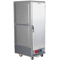 Metro C539-CFS-L-GY C5 3 Series Heated Holding and Proofing Cabinet with Solid Door - Gray