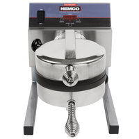 Nemco 7020A-1S208 SilverStone Non-Stick Belgian Waffle Maker with Fixed Grids - 208V
