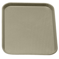 Desert Tan Cambro 1216FF104 12 inch x 16 inch Customizable Fast Food Tray 24/Case