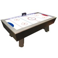 7 1/2' Full-Length Interactive Lighted Rail Air Hockey Table