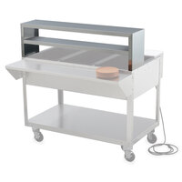 Vollrath 38032 Double Deck Overshelf for Vollrath 2 Well / Pan Hot or Cold Food Tables
