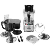 Waring WFP16SCD Combination Continuous Feed Food Processor with 4 Qt. Bowl - 2 hp
