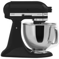 KitchenAid KSM150PSBK Imperial Black Artisan Series 5 Qt. Countertop Mixer