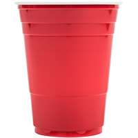 Dart Solo P16R Red 16 oz. Plastic Cup 50 / Pack