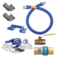 48 inch Dormont 16100KIT Deluxe SnapFast Gas Appliance Connector Kit with Safety-Set Kit - 1 inch Diameter