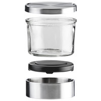 Cal-Mil 1851-4 Complete 16 oz. Small Glass Mixology Jar Set