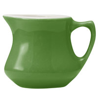 Hall China 30195W324 Shamrock 3.5 oz. Empire Creamer 24 / Case