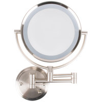Conair BE11WD Wall Mount Mirror Lighted Brushed Nickel