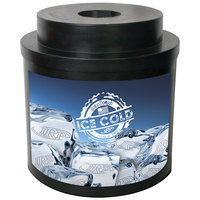 Black Super Cooler I 010 Keg / Beverage Cooler