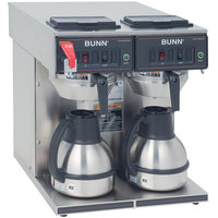 Bunn 23400.0047 CWTF Twin-TC Automatic Thermal Carafe Coffee Brewer - 120/240V