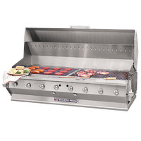 Bakers Pride CBBQ-60S-BI Natural Gas 60 inch Ultimate Built-In Gas Outdoor Charbroiler with Grill Cover