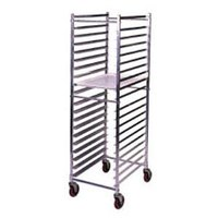 Win-Holt AL-1820BKD/HD 20 Pan End Load Aluminum Bun / Sheet Pan Rack - Unassembled