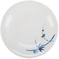 Blue Bamboo 5 1/4 inch Round Melamine Plate - 12/Pack