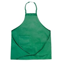 Chef Revival 601BAC-GN Customizable Full-Length Kelly Green Bib Apron - 30 inchL x 34 inchW