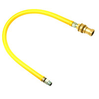 T&S HG-6D-48 Safe-T-Link 48 inch FreeSpin Reversed Quick-Disconnect Gas Appliance Connector - 3/4 inch NPT