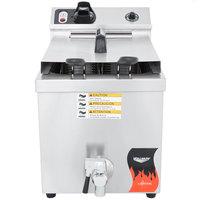 Vollrath 40709 15 lb. Commercial Countertop Deep Fryer - 208-240V