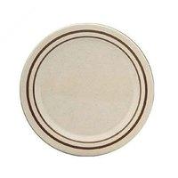 10 inch Beige Arcadia Round Melamine Plate - 12/Case