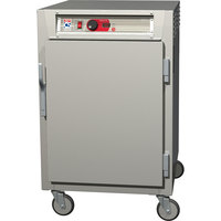 Metro C585-NFS-LPFC C5 8 Series Reach-In Pass-Through Heated Holding Cabinet - Full Length Clear / Solid Doors