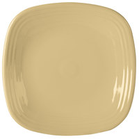Homer Laughlin 919330 Fiesta Ivory 10 3/4 inch Square Dinner Plate - 12 / Case