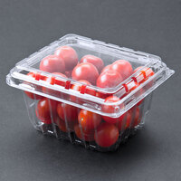 Pactiv 1 Pint Vented Clamshell Produce / Berry Container - 516 / Case