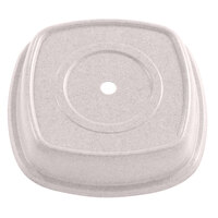 Ivory Cambro 1212SQVS380 Versa Camcover 12 inch Square Plate Cover 12/Case