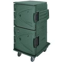 Cambro CMBH1826TSF192 Granite Green Camtherm Electric Food Holding Cabinet Tall Profile - Hot Only with Internal Celsius Thermometer
