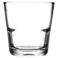 Anchor Hocking 90252 Clarisse 10 oz. Stackable Rocks Glass - 24 / Case
