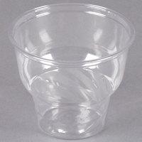 12 oz. Clear PET Sundae Cup - 50/Pack