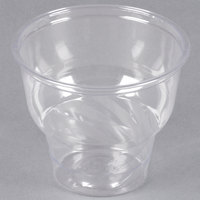 12 oz. Clear PET Sundae Cup - 50/Pack