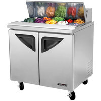 Turbo Air TST-36SD 36 inch Super Deluxe Refrigerated Sandwich / Salad Prep Table