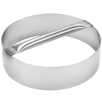 American Metalcraft RDC11 11 inch x 3 inch Stainless Steel Dough Cutting Ring