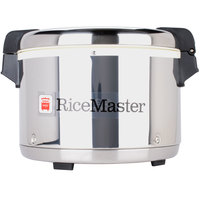 Town 56916S 72 Cup (36 Cup Raw) Commercial Rice Warmer with Stainless Steel Finish - 120V