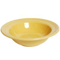Tuxton Concentrix CSD-066 Saffron 9.5 oz. 6 3/4 inch China Grapefruit Bowl / Dish 24/Case