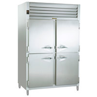Traulsen ACV232WUT-HHS 51.6 Cu. Ft. Two Section Half Door Reach In Convertible Freezer / Refrigerator - Specification Line