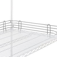 Metro L48N-4C Super Erecta Chrome Stackable Ledge 48 inch x 4 inch