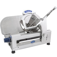 Globe Chefmate GC512 12 inch Manual Gravity Feed Slicer - 1/3 hp