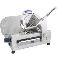 Globe Chefmate GC512 12 inch Manual Gravity Feed Slicer - 1/3 hp
